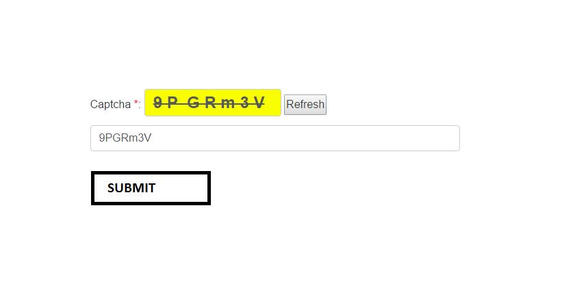 javascript CAPTCHA